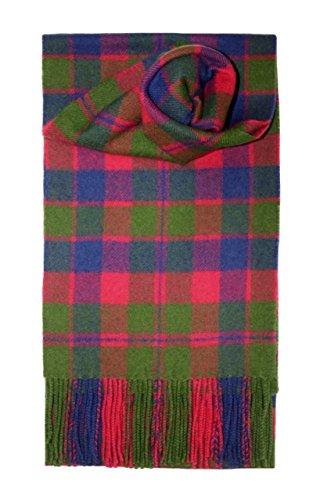 Preisvergleich Produktbild Glasgow Tartan Scarf Lambswool
