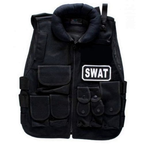 Softair GSG Tactical SWAT Weste, schwarz