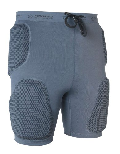 Forcefield Action Shorts Sport Protektorenhose, Farbe grau, Größe XS