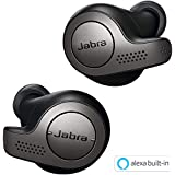 Jabra Elite 65t Alexa Enabled True Wireless Earbuds with Charging Case (Titanium Black)