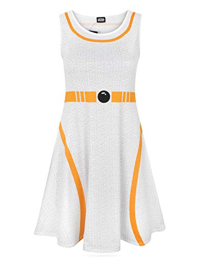 Star Wars Damen Kleid BB-8-Kostüm (Small) - Star Wars Kostüm Tragen