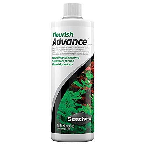 Seachem Suplemento de fitohormona Flourish Advance, 500 ml