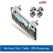 RPM - Euro Games Metal Pubg triggers for Phone l1r1 Mobile Gaming Controller Buttons