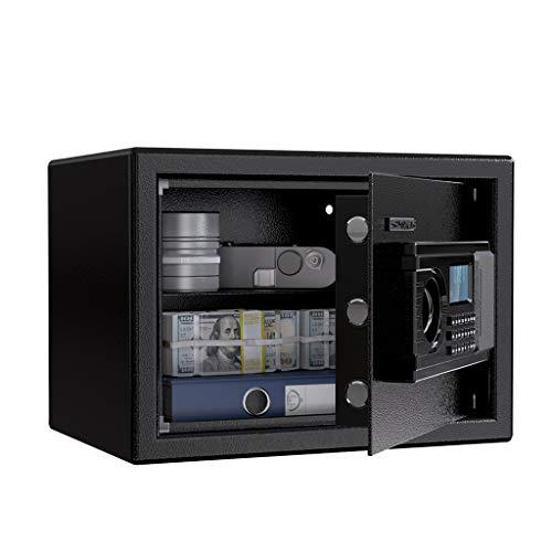 Caja Fuerte Convencionales de Seguridad, SLYPNOS - Caja de Seguridad Regalo con 4 AA batterias+2 llaves...