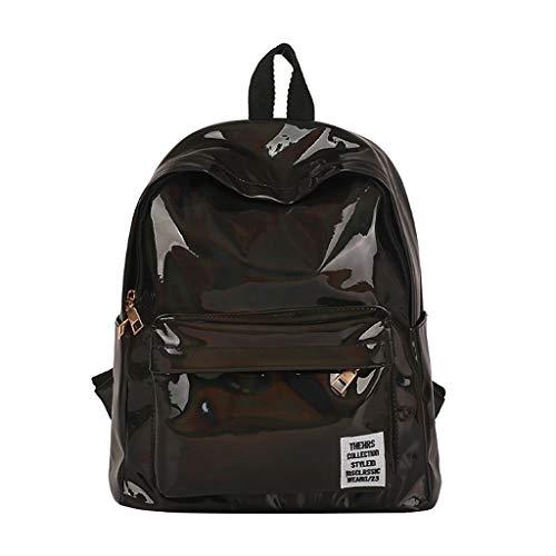 Mitlfuny handbemalte Ledertasche, Schultertasche, Geschenk, Handgefertigte Tasche,Mode Candy Farbe Rucksack Mädchen kleine Reise Schule Rucksäcke Umhängetaschen