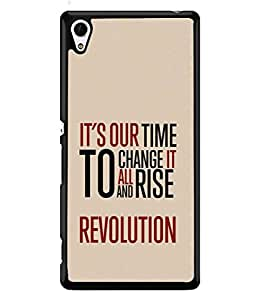 Fuson Designer Back Case Cover for Sony Xperia Z3+ :: Sony Xperia Z3 Plus :: Sony Xperia Z3+ dual :: Sony Xperia Z3 Plus E6533 E6553 :: Sony Xperia Z4 (Quotation one liner motivational inspiration)