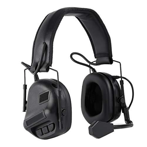 Kommunikations-Headset Tragbarer Helm Stereo-Headset Airsoft Headset mit Mikrofon
