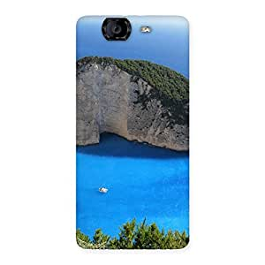 Neo World Sea Bay Waterfront Back Case Cover for Canvas Knight A350