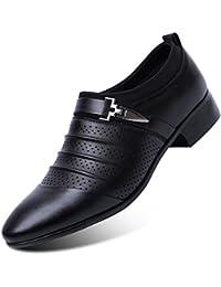 Blivener - Zapatos de cordones para hombre