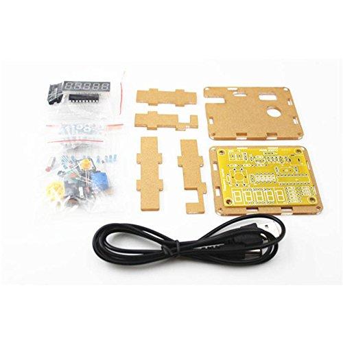 Sharplace 1Hz-50MHz digital Frequenzmesser Modul DIY Kits Digital-batterie-tester-kit
