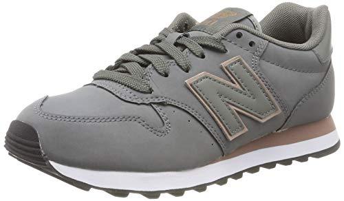 New Balance Damen 500 Sneaker, Grau (Grey Grey), 39 EU