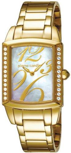Pierre Cardin - PC104182F05 - Beauté - Montre Femme - Quartz Analogique - Cadran Nacre - Bracelet Acier Doré