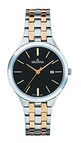 GROVANA Womens Analogue Classic Quartz Watch with Stainless Steel Strap 5016.1157