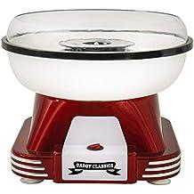 Gadgy ® Maquina de Algodon de Azucar   Retro Cotton Candy Machine   Usar Azúcar Regular