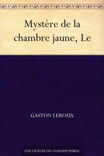 Couverture du livre Mystère de la chambre jaune, Le
