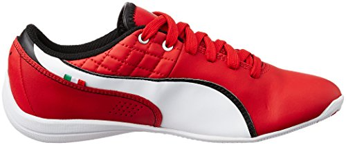 Puma  Drift Cat 6 L NM SF Jr, Sneakers basses mixte enfant Rouge - Rot (rosso corsa-white-rosso corsa 03)