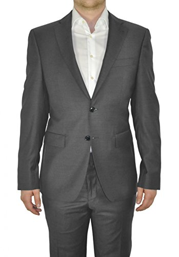 Michaelax-Fashion-Trade - Blazer - Uni - Manches Longues - Homme Grau (15)