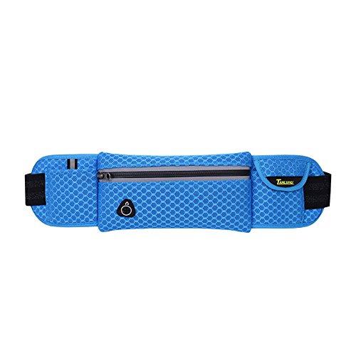 Mit Taschen, Übung, Taschen, Outdoor - Männer Und Frauen Blue honeycomb lattice
