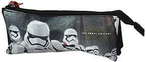Star Wars- Estuche portatodo Triple (SAFTA 811601744), Color Negro y Rojo, 22 cm (