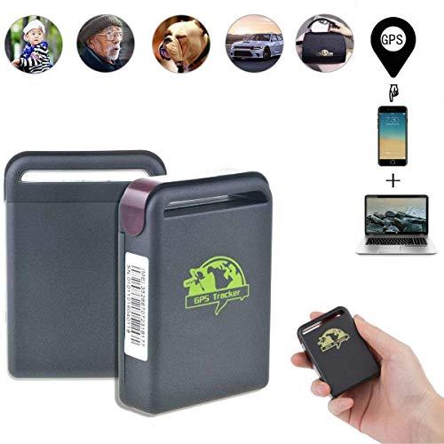 TKSTAR Rastreador GPS Personal, Mini Localizador GPS Dispositivo con SOS otón Alerta...
