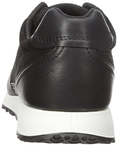 Ecco Damen Sneak Ladies Sneakers Schwarz (Black/Black51052)