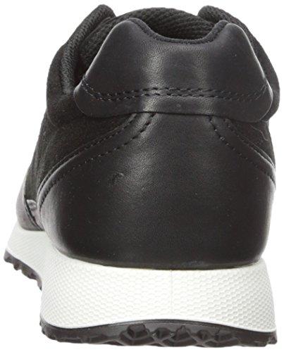 Ecco Damen Sneak Ladies Sneaker Schwarz (Black/Black51052)