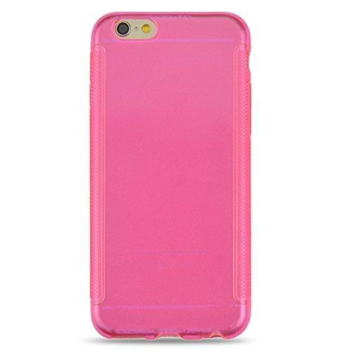GHC Cases & Covers, 0.3mm Ultra-dünner Anti-Rutsch-TPU Fall für iPhone 6 ( Color : Grey ) Magenta