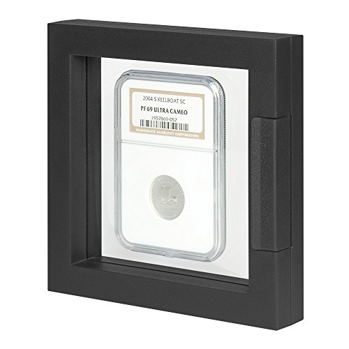 Object frame NIMBUS ECO - black [Lindner 4836 S], Dimensions: 100 x 100 x 24 mm