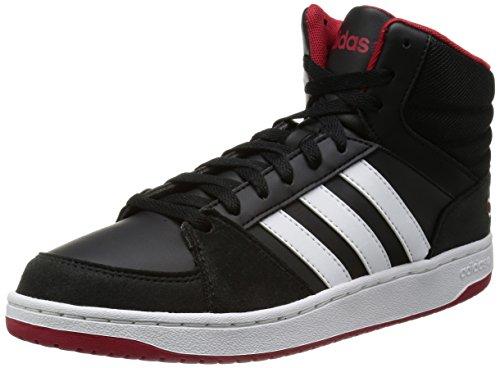 Adidas VLHoops Mid black/ftwwht/powred Gr. 42 2/3