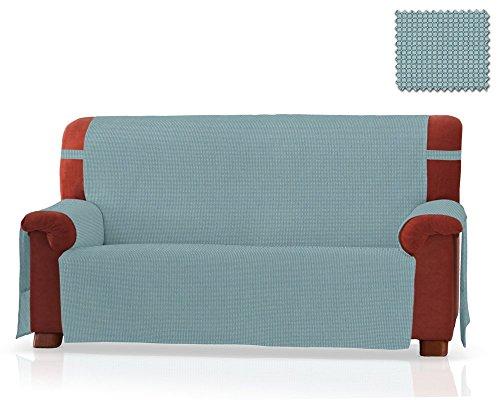 JM Textil Salvadivano Gea Dimensione 3 Piazze (160 Cm.),Colore Turchese