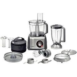 Bosch MCM68840 - Robot de cocina, 1250 W, capacidad de 3,9, color gris y antracita