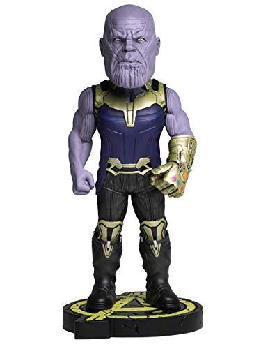 NECA- Thanos Headknocker Figura 20,32 cm Marvel Avengers Infinity War, Color (NEC0NC61787)