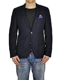 Michaelax-Fashion-Trade - Veste de costume - Uni - Manches Longues - Homme