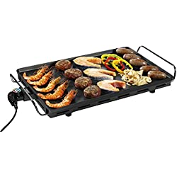 Princess Table Chef Grill XXL - Grill plancha, 2500 W, 36 x 60 cm