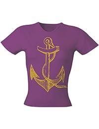 Art Worx Anchor Girly T-Shirt