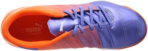 Puma Evopower 4.3 Tt, Chaussures de Football Compétition homme Multicolore (Blue Yonder-puma White-SHOCKING Orange 03)