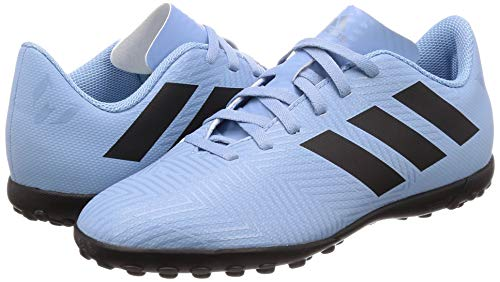 adidas Unisex Kids    Nemeziz Messi Tango 18 4 Tf J Football Boots  Multicolour  Azucen Negb  s Grinat 0   3 UK