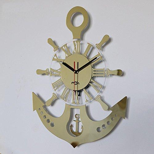 7dc13cc7776 EQEQ La habitación de los niños creativos Cartoon Moda Reloj Swing  decorativa