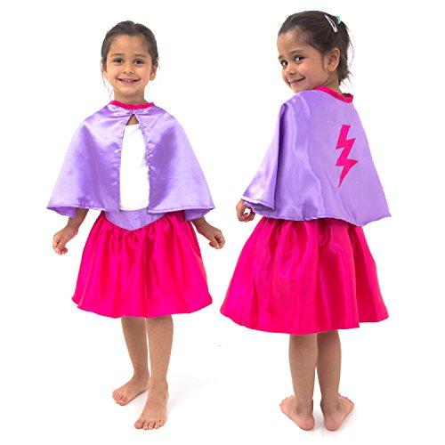 Superhelden Kostüm Mädchen - Superheldin Kostüm - Kinder -