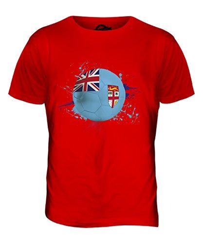 CandyMix Fidschi Fußball Herren T Shirt Rot
