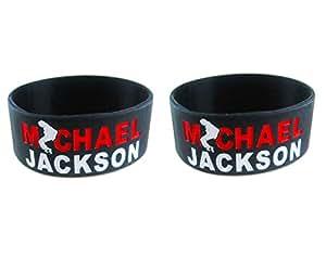 Michael Jackson Wrist Band set of 2 pcs