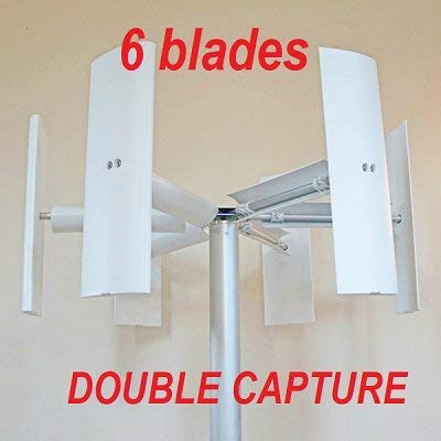 fd7cb035bd3 ... generador eolico eje vertical Domus 500 750 1000 W + 3 aspas eoliche  darrieus savonius. image. image. image. image. image. image