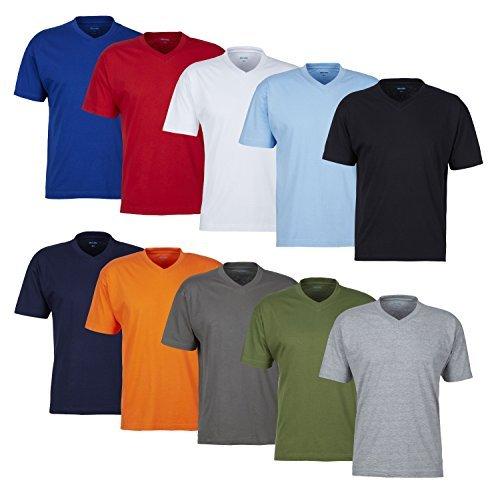 huge discount 8a5b1 0c975 MioRalini 5 Set T-Shirt Uomo T-Shirt Uomo 100% Cotone ...
