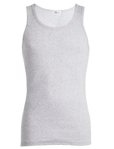 JBS Herren Basic Unterhemd Dess. 325, Grau, M, 3250105-150 Preisvergleich