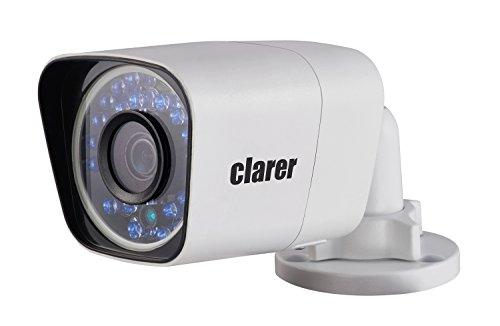clarer Netzwerk Kamera IP Kamera Überwachungskamera Sicherheitskamera für Indoor & Outdoor SD Karte LAN & WLAN Wi-Fi PoE