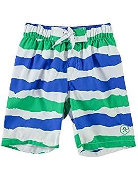 Color Kids 103261 - Kinder Badehose Badeshort blau/grün/weiss Gr. 92 - 152