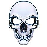 Charlemain Masque Halloween LED, Masque Lumineux avec 3 Modes de Flash,Jouets...