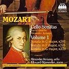 Mozart Cellosonaten