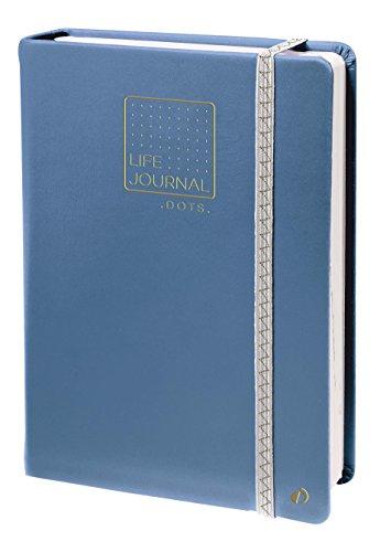 Quo Vadis 237982Q Life Journal Carnet 21 dots point avec élastique 15 x 21 cm Bleu