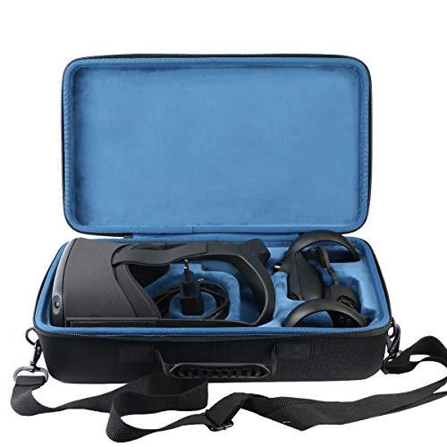 khanka Dur Cas étui de Voyage Housse Porter pour Oculus Quest Casque de réalité virtuelle All-in-One 64Go (Bleu intérieur)